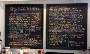Amazing Menu - tons of options!
