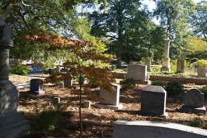 Oakland Cemetary in the Fall